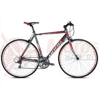 Bicicleta Drag Blade Flatbar C-38 gri/rosu 2016