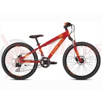 Bicicleta Drag C1 JR24 TE rosu/orange 2017
