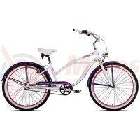 Bicicleta Drag Catwalk alb/mov 2015