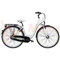 Bicicleta Drag City Hawk Nuvinci alb/verde