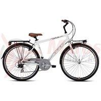 Bicicleta Drag Glide Daily 2014 alb/maro