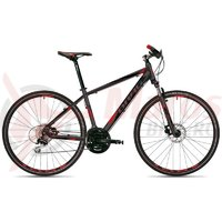 Bicicleta Drag Grand Canyon Pro negru/rosu