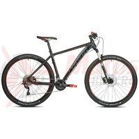 Bicicleta Drag Hardy TE SLX-21 negru rosu