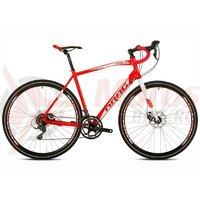 Bicicleta Drag Rodero Comp rosu/alb 2016