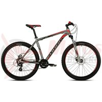 Bicicleta Drag ZX Comp argintiu/rosu 2017
