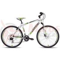 Bicicleta Drag ZX2 Pro alb/verde