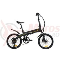 Bicicleta eBIKE Pliabila ITALWIN K2S Negru 20x1.95