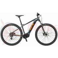 Bicicleta elecrica GT Pantera Dash Gloss Gunmetal/Orange & Black
