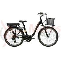 Bicicleta electrica Adriatica E1 e-bike lady black