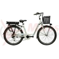 Bicicleta electrica Adriatica E2 e-bike lady white 26