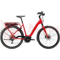 Bicicleta electrica Cannondale 700 U Mavaro Active City Acid Red