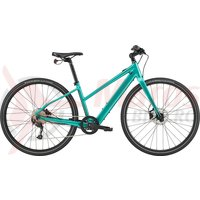 Bicicleta electrica Cannondale 700 U Quick Neo SL 2 Remixte Turquoise 2020