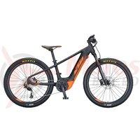 Bicicleta electrica copii KTM MACINA MINI ME 261 negru matt/portocaliu