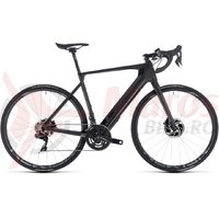 Bicicleta electrica Cube Agree Hybrid C:62 SLT Disc black edition 2018