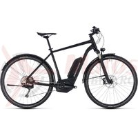 Bicicleta electrica Cube Cross Hybrid SL Allroad 500 black edition 2018