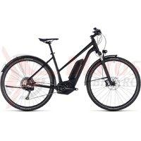 Bicicleta electrica Cube Cross Hybrid SL Allroad 500 trapze black edition 2018