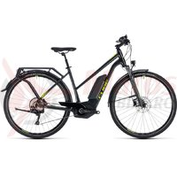 Bicicleta electrica Cube Kathmandu Hybrid Pro 500 trapeze iridium/green 2018