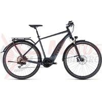 Bicicleta electrica Cube Touring Hybrid SL 500 iridium/red 2018