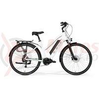 Bicicleta electrica dama M-Bike E T-Bike 1.0, alb
