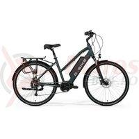 Bicicleta electrica dama M-Bike E T-Bike 1.0, negru matt