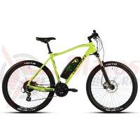 Bicicleta electrica Devron E-Bike Riddle Man E1.7 27' verde 2018