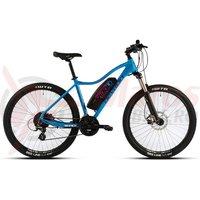 Bicicleta electrica Devron Riddle Woman E1.7 albastra 2018