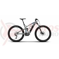 Bicicleta electrica GT FORCE GT-E Amp Gloss Titanium Silver/Black & Team Blue