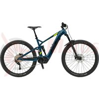 Bicicleta electrica GT Force GT-E Current Gloss Deep Teal/ Black & Chartreuse