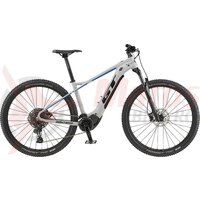 Bicicleta electrica GT Pantera Bolt Gloss Battleship Gray/Black & Team Blue