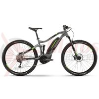 Bicicleta electrica Haibike Sduro FullNine 4.0 500Wh 20s Deore grey/black/green 2019