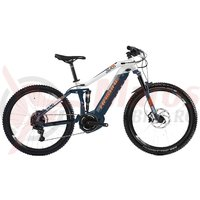 Bicicleta electrica Haibike Sduro FullNine 5.0 i800Wh 11s NX blue/white/orange 2019