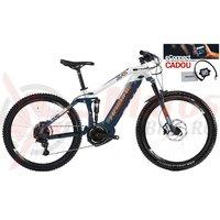 Bicicleta electrica Haibike SDURO FullNine 5.0 i800Wh 11s NX blue/white/orange 2019 eConnect CADOU