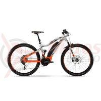 Bicicleta electrica Haibike SDURO FullNine 8.0 500Wh 20s XT YXC silver/orange/olive 2018