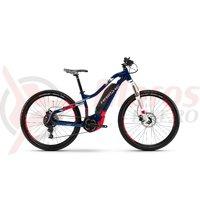 Bicicleta electrica Haibike Sduro HardLife 3.0 500Wh 11s NX YWC blue/coral/white 2018