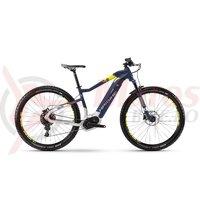 Bicicleta electrica Haibike Sduro HardNine 7.0 500Wh 11s NX BCXP blue/citron/silver 2018