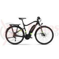 Bicicleta electrica Haibike Sduro Trekking 6.0 men 500Wh 20s XT YWC black/green/titan 2018