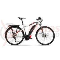 Bicicleta electrica Haibike Sduro Trekking S Men 8.0 500Wh 20s XT YWC white/titan/red 2018