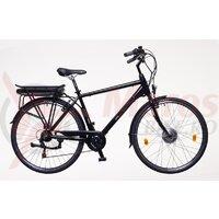 Bicicleta electrica Neuzer E-Trekking Zagon - 28' Negru/Albastru-Bronz