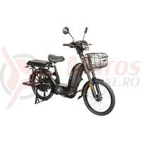 Bicicleta electrica ZT-04 48V, 12Ah 560W, argintiu + CIV