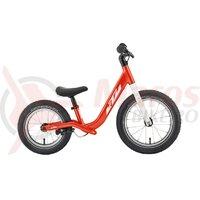 Bicicleta fara pedale KTM Wild Buddy 12' Portocaliu/Alb