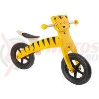 Bicicleta fara pedale lemn 12 Tiger C