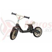 Bicicleta fara pedale Polisport BB gri/crem