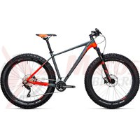 Bicicleta fat bike Cube Nutrail grey/flashred 2018