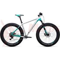 Bicicleta fat bike Cube Nutrail Pro raw/mint 2018