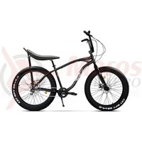 Bicicleta fat bike Pegas Cutezator EV Banana 7v negru stelar
