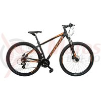 Bicicleta Fivestars Rebel 29 HDB negru/portocaliu 2019