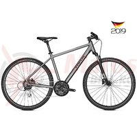 Bicicleta Focus Crater Lake 3.7 24G grey 2019