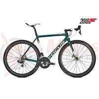 Bicicleta Focus Izalco Max Disc Red E-Tap 22G racing green 2018
