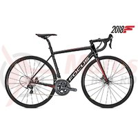 Bicicleta Focus Izalco Race Disc Ultegra 22G black/red/white 2018