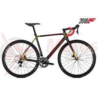 Bicicleta Focus Mares 105 22G carbon/red/orange 2018